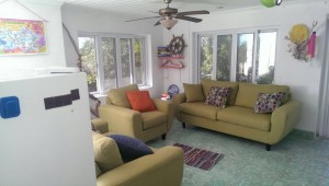Interior of Rental House at Little Deadmans Cay